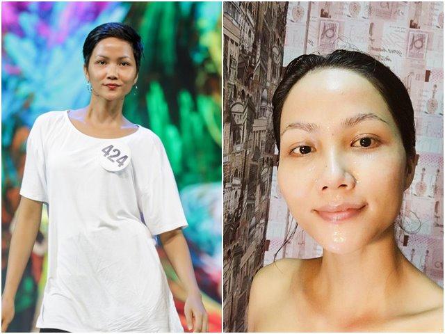 Ngỡ ngàng với mặt mộc không son phấn của Tân Hoa hậu Hoàn vũ Việt Nam