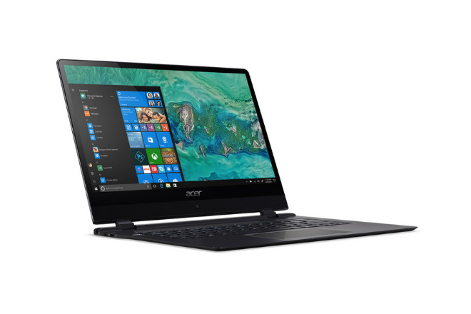 Acer vừa công bố laptop mỏng nhất thế giới - 1