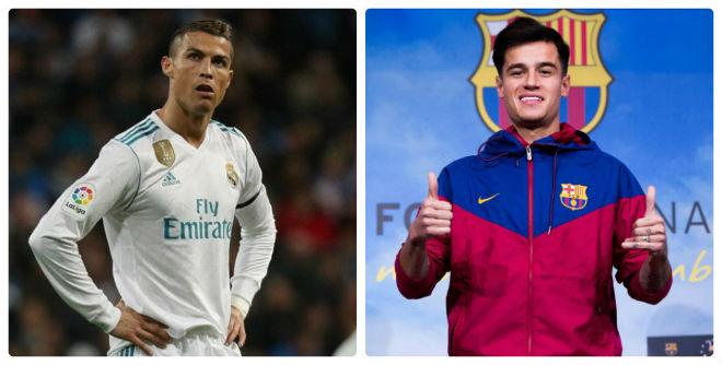 """Top sao """"bạc tỷ"""": Ronaldo hết thời, Coutinho 160 triệu euro quá đắt - 1"""