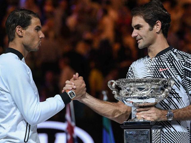 Australian Open, khoảnh khắc kinh động: Nadal ôm hận Federer - Djokovic