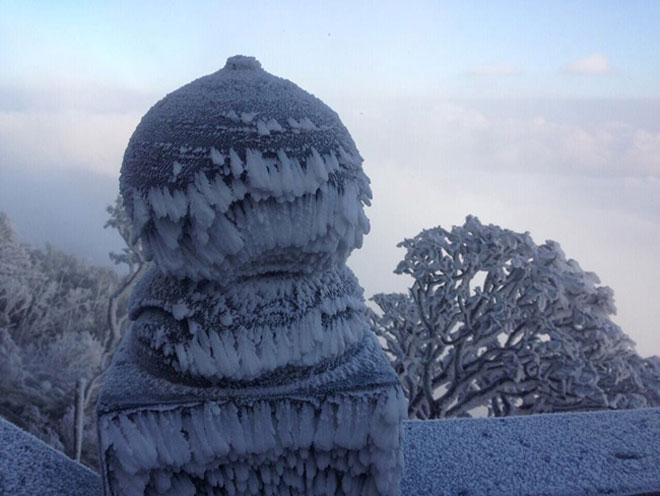 Clip: Tuyết bắt đầu rơi trên đỉnh Fansipan - 1