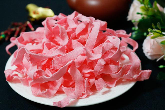 Cách làm mứt dừa màu hồng - 1