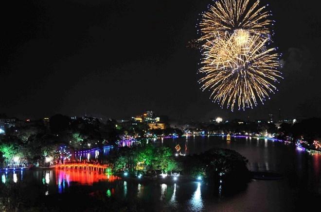 Hà Nội bắn pháo hoa tại 30 điểm dịp Tết Nguyên đán 2018 - 1