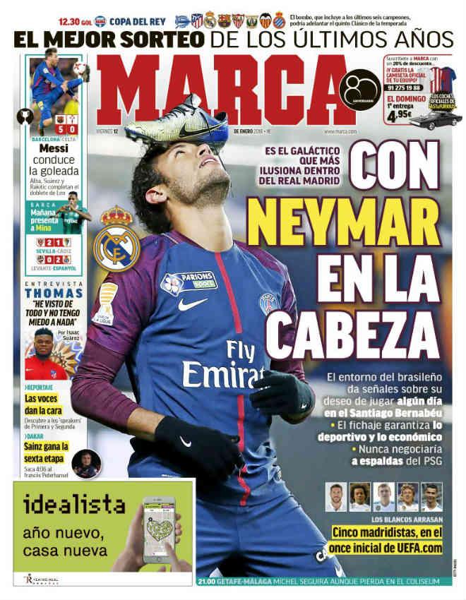 """Real nổ """"bom tấn kép"""" Neymar - Hazard: Ronaldo sẽ là """"vật tế thần"""" - 1"""