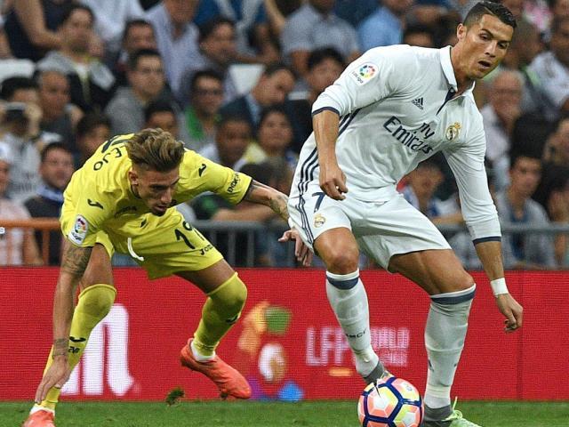 Video, kết quả bóng đá Real Madrid - Villarreal: Bắn phá không ngừng (Hiệp 1)