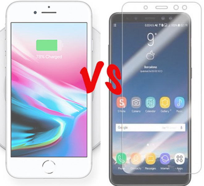 """5 """"vũ khí bí mật"""" mà iPhone 8 Plus phải chào thua Galaxy A8+ - 1"""