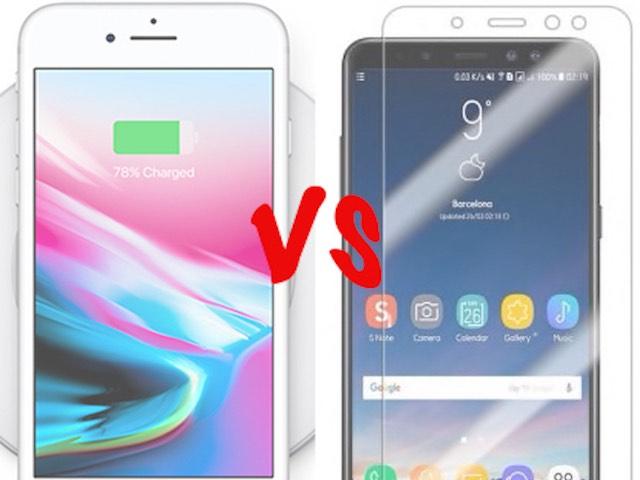 """5 """"vũ khí bí mật"""" mà iPhone 8 Plus phải chào thua Galaxy A8+"""