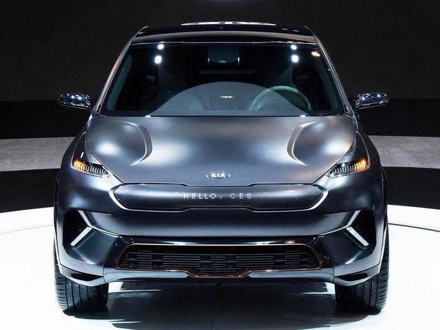 Kia Niro EV: Crossover thế hệ mới thông minh - 1