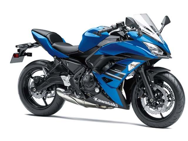 """Kawasaki Ninja 650 ABS được bổ sung """"màu áo"""" mới"""