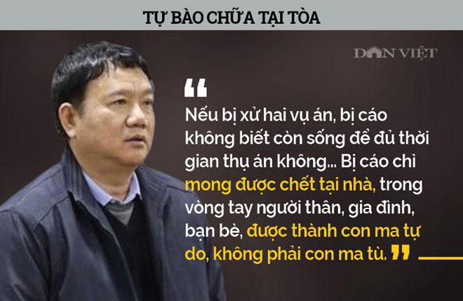Infographic: Ám ảnh phát ngôn của bị cáo Đinh La Thăng, Trịnh Xuân Thanh - 1