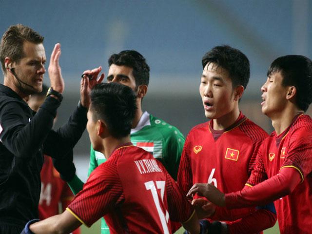 U23 Việt Nam bị quả 11m sét đánh: Cả triệu anh em tìm trọng tài Úc