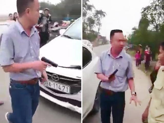 """Vụ rút súng dọa người sau tai nạn: Phát hiện thêm """"hàng nóng"""" trên xe Mazda"""