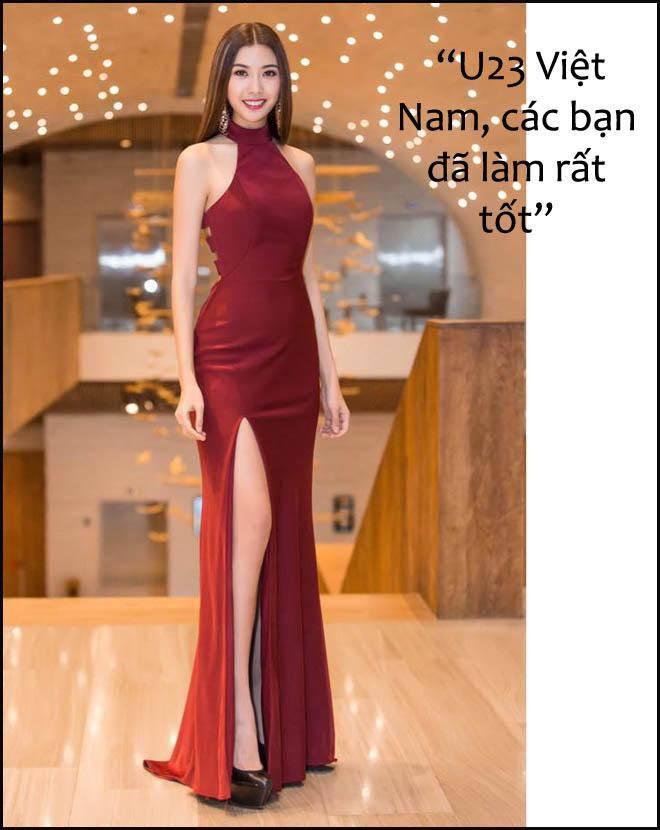Dàn hoa, á hậu Việt tưng bừng gửi lời tới đội tuyển U23 Việt Nam - 2