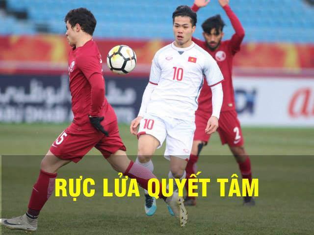 TRỰC TIẾP U23 Việt Nam - U23 Qatar: Đối thủ được hưởng penalty, mở tỷ số