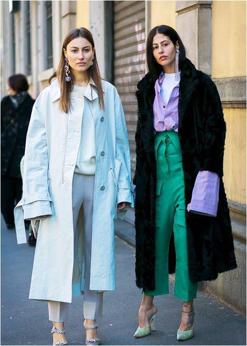Cặp bạn thân mặc đẹp nhất năm 2017 và phong cách sáng tạo ít ai bằng! - 8