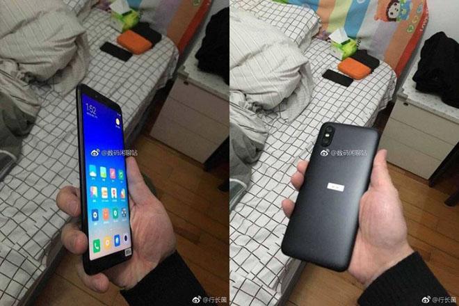 Rò rỉ hình ảnh trên tay Xiaomi Mi 6X phong cách camera iPhone X - 1