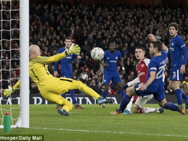 """Arsenal - Chelsea: Vé chung kết bị """"tội đồ"""" xé nát - 1"""