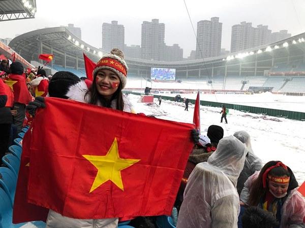 Dù thua cuộc, các Hoa - Á hậu vẫn muốn làm điều này với những người hùng U23 Việt Nam - 1