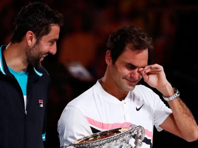 Australian Open: Federer rơi lệ ngày giành Grand Slam thứ 20