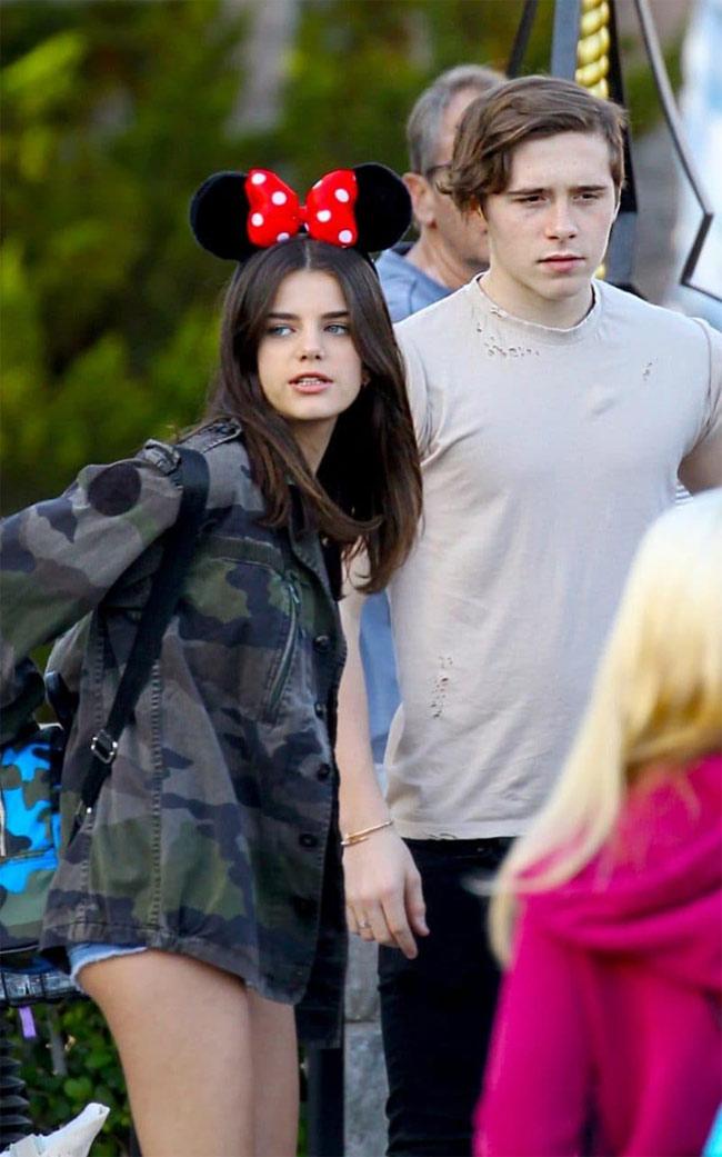 Câu cả nhà Beck từng hẹn hò với người mẫu, diễn viên Sonia Ben Ammar.