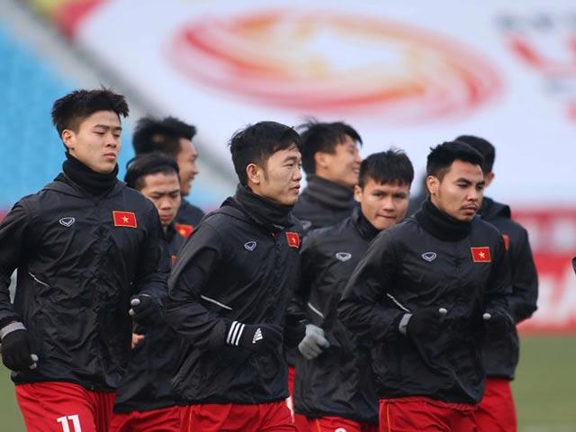 Các tuyển thủ U-23 Việt Nam chia thưởng ra sao?
