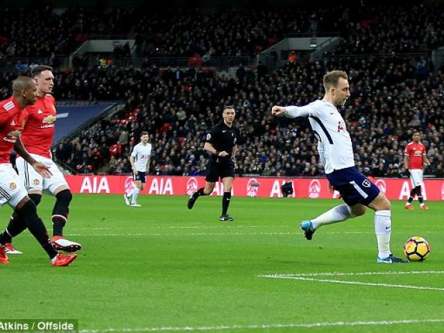 MU bị Tottenham chọc thủng lưới giây 11, nỗi oan khó nói