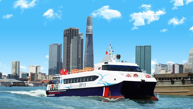 Chính thức vận hành tuyến vận tải hành khách bằng tàu thủy cao tốc TP.HCM - Vũng Tàu – Cần Giờ - 1