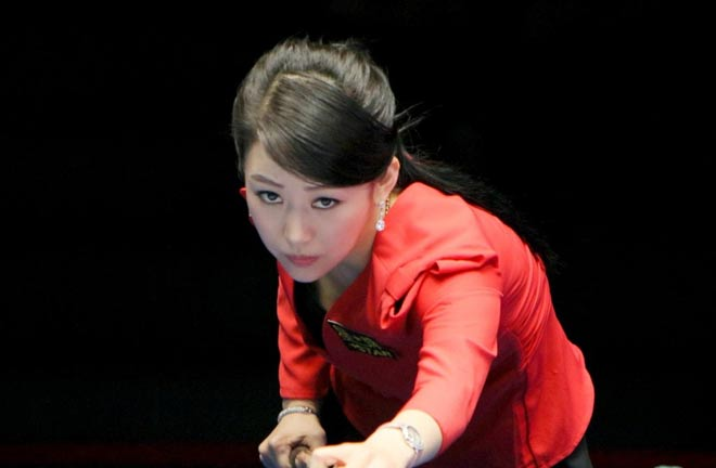 Nữ thần bi-a Trung Quốc: Người đẹp, đi cơ cũng đẹp - 1