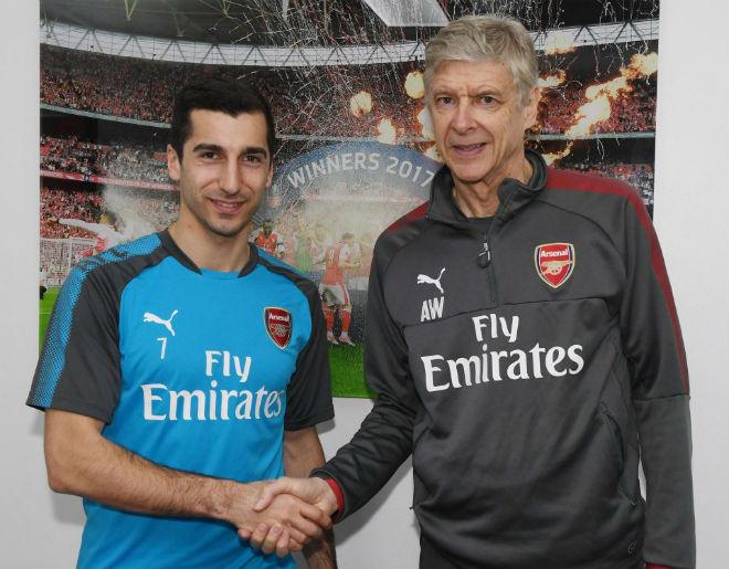 Arsenal đón Aubameyang, Mkhitaryan: Học MU, Mourinho vô địch châu Âu - 1