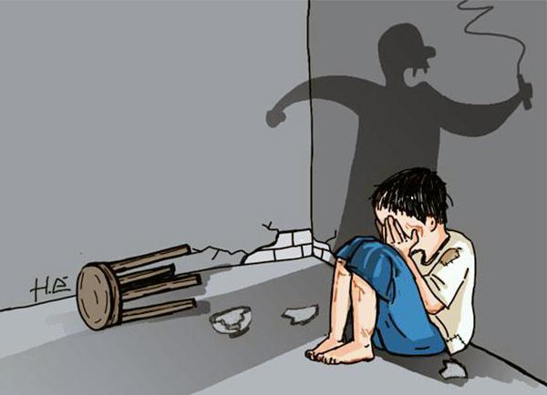 Câu hỏi lớn về một đứa trẻ bị bạo hành bỏ học - 1