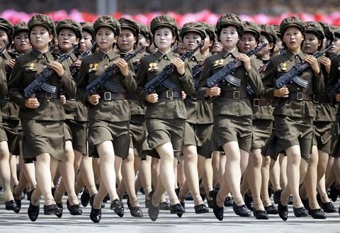 """Những con số """"khủng"""" chỉ quân đội Triều Tiên mới có - 1"""