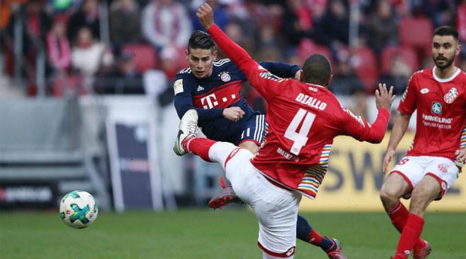 """Mainz - Bayern Munich: Ra chân """"điện xẹt"""", vô-lê kết liễu - 1"""