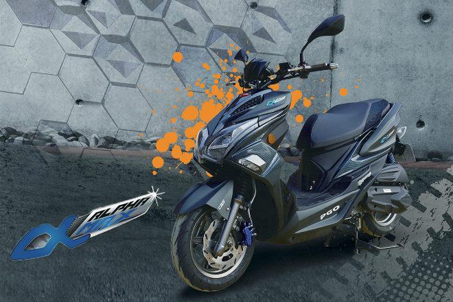 Đối thủ mới của Honda AirBlade sắp ra mắt, quá đẹp - 1