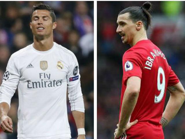 """Ronaldo, Ibrahimovic """"siêu nhân"""" hóa người thường: Cái giá của ảo tưởng"""