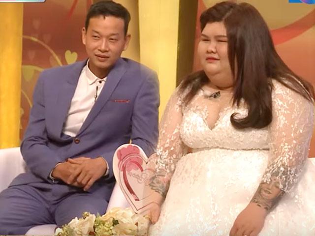"""Chồng yêu đơn phương vợ 4 năm trời, """"vỗ béo"""" lên 120kg rồi cưới"""