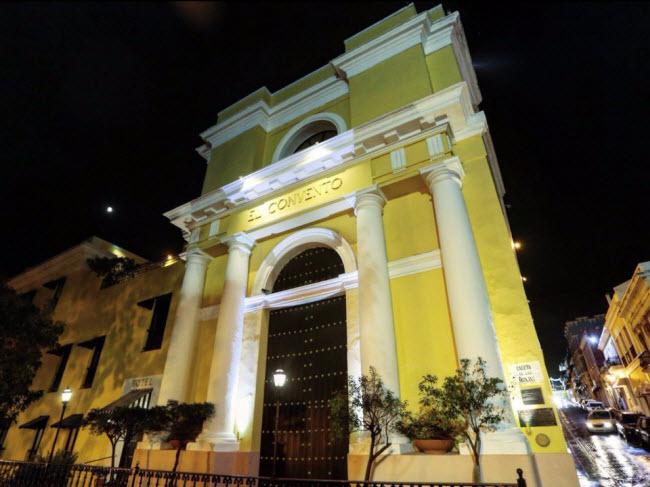 Hotel El Convento, San Juan, Puerto Rico (Năm 1646): Công trình này là thành viên lâu đời nhất của khách sạn lịch sử châu Mỹ.