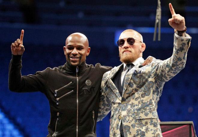"""Kinh điển McGregor – Mayweather lượt về: 500 triệu USD """"sập sàn"""" MMA - 1"""