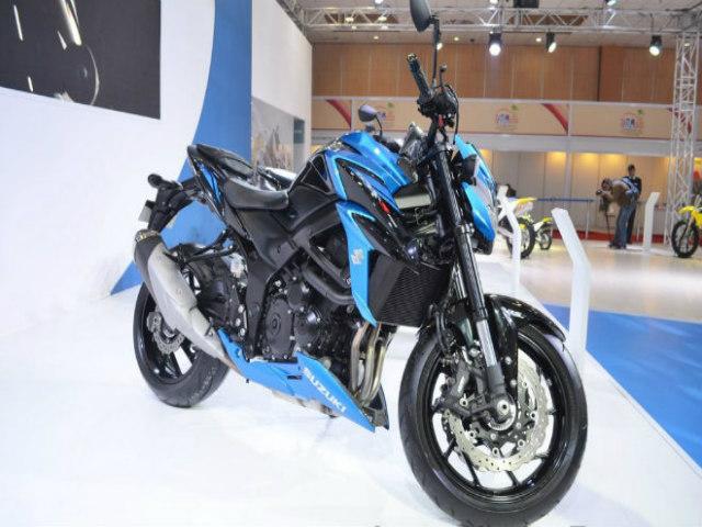 2018 Suzuki GSX-S750 ra mắt, đối đầu Kawasaki Z900