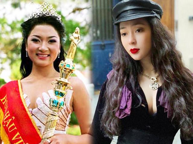 """Hoa hậu Nguyễn Thị Huyền: """"Cằm lẹm là di truyền nhà em nhé."""""""