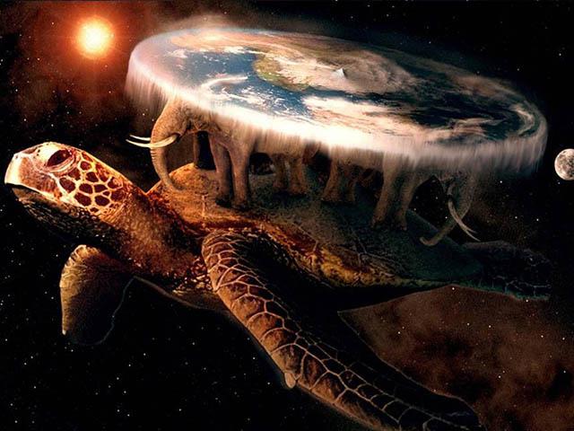 Trong thế kỷ 21 vẫn có người tin rằng Trái đất có hình... cái đĩa