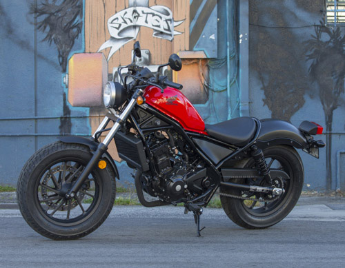 Rebel 300 sẽ được Honda bán ra từ tháng 3/2018 với giá 125 triệu - 1