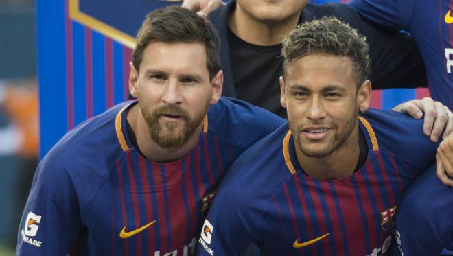 Messi châm ngòi cuộc chiến Real - PSG: Ronaldo đua sao nổi Neymar - 1