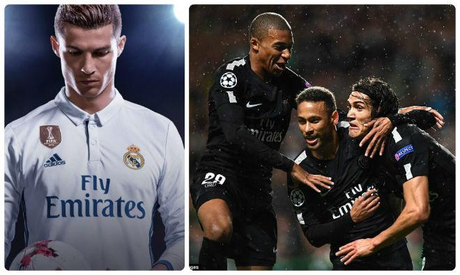 Đội hình trong mơ Real-PSG xưng bá châu Âu: Neymar cướp chỗ Ronaldo - 1