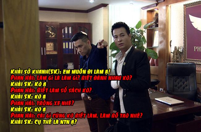 """Với cách đối đáp thế này thì đến Phan Quân cũng """"bó tay"""" chứ đừng nói đến Phan Hải."""