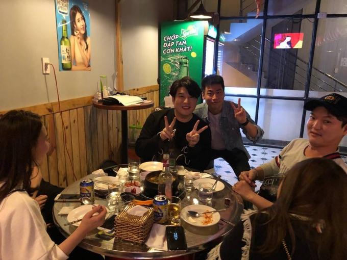 Thành viên Super Junior đến Đà Nẵng ăn Tết - 1