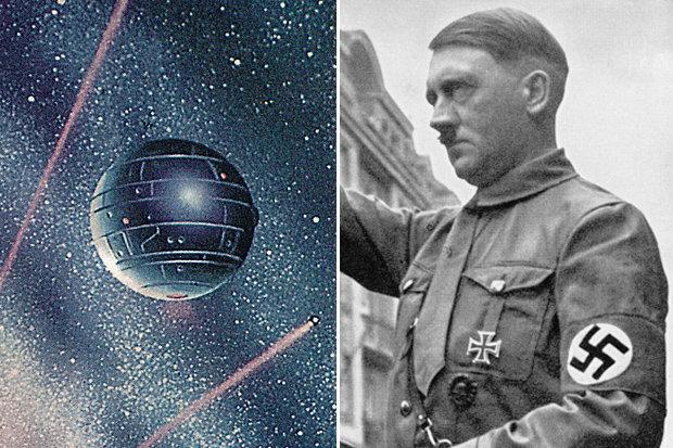 Vũ khí kinh khủng của Hitler với đường kính 1,6 km, bắn từ vũ trụ - 1