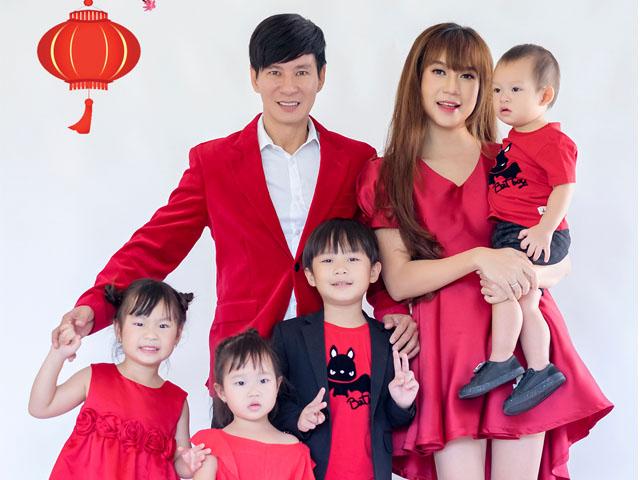 Vợ chồng Lý Hải - Minh Hà chuẩn bị đón Tết trước 1 tháng