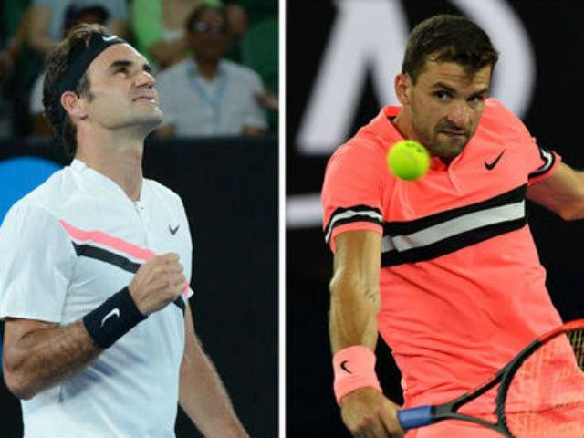 TRỰC TIẾP tennis Federer - Dimitrov: Bất ngờ giành break