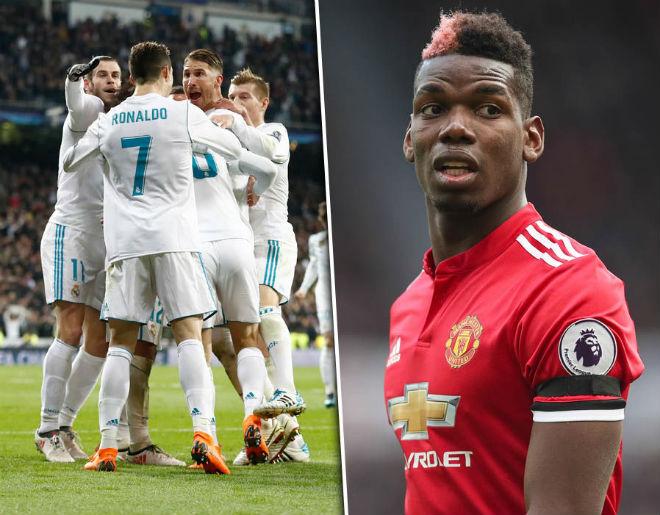 Chuyển nhượng MU: Ronaldo ngăn cấm Pogba sang Real - 1