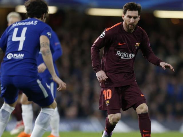 Kết quả bóng đá Chelsea - Barcelona: Willian sáng hơn Messi (Hiệp 1)